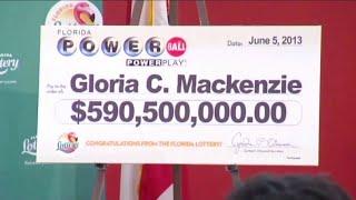 Powerball winner sues son