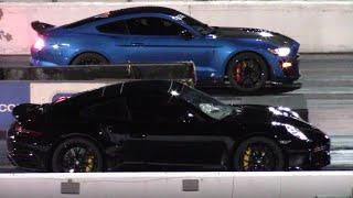 2020 GT500 vs Porsche 911 Turbo S - Wait For It! (GT500 from Palm Beach Dyno)
