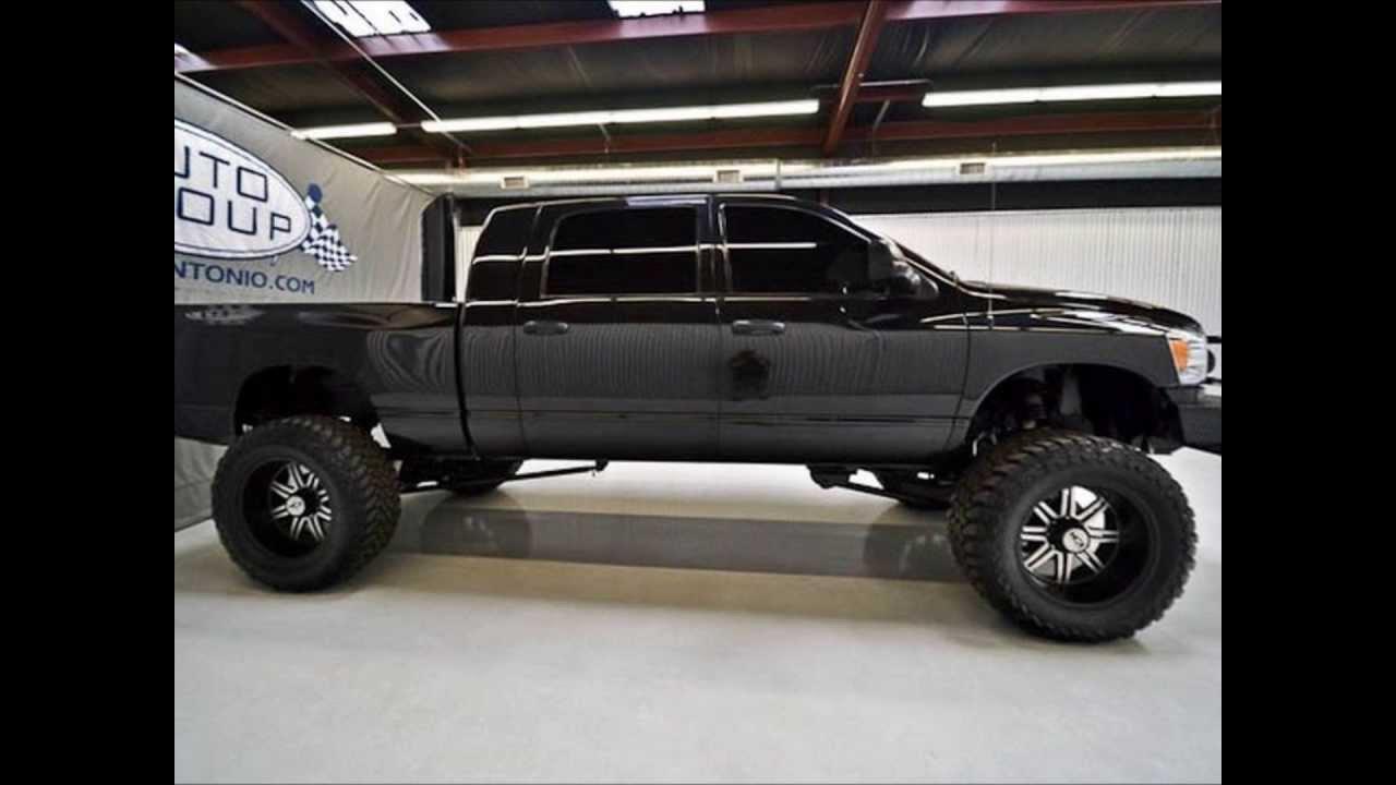 lifted 2007 dodge ram 3500 diesel mega cab slt for sale youtube. Black Bedroom Furniture Sets. Home Design Ideas