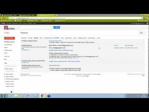 Google Apps - Delegiranje inboxa u Gmailu.wmv