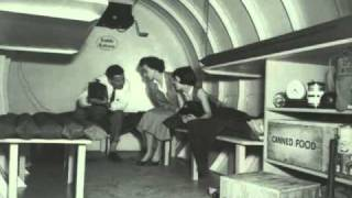 Red Alert Message for Los Angeles Civil Defense (1950s)
