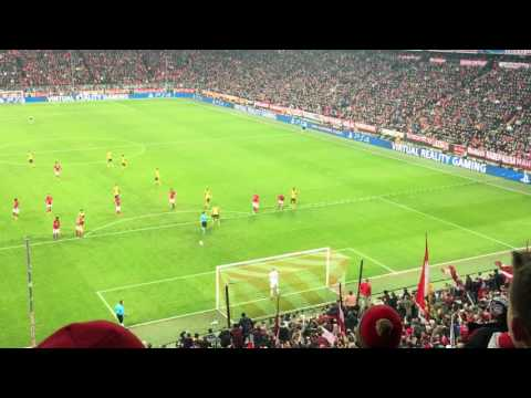 Bayern 1-1 Arsenal: Sanchez quân bình tỷ số