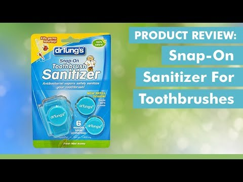 Product Review: Snap-on Sanitizer for Toothbrushes