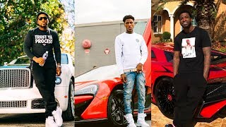 Rappers Showing Off Their Expensive Cars, Jewelry and Money 2018 (NBA YoungBoy Moneybagg Yo Kodak)