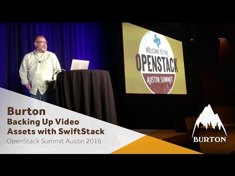 Burton Snowboards - Backing up Video Assets with SwiftStack