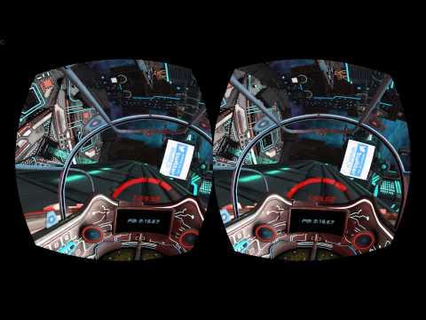 Radial G Oculus Rift VR Gameplay