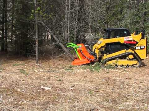 SS Mini Might Mulcher on a  CAT 259D Standard Flow