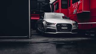 Audi RS6 Hazard Lights HD Live Wallpaper