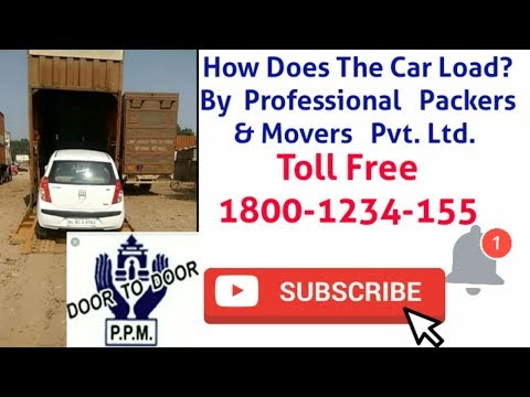 Car Transport, Car Shifting, How Car Loading is Unloading in Carriers By Professional Packers Movers