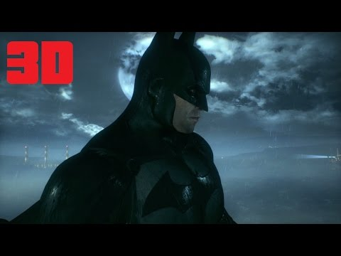 Batman Arkham Knight 3D Gameplay 1080p SBS