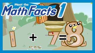 Meet the Math Facts Level 1 - 1+7=8