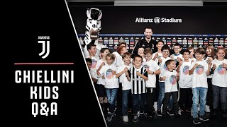 QUESTIONS FOR CHIELLINI   Junior Members ask the questions we wish we could ask! 👀?