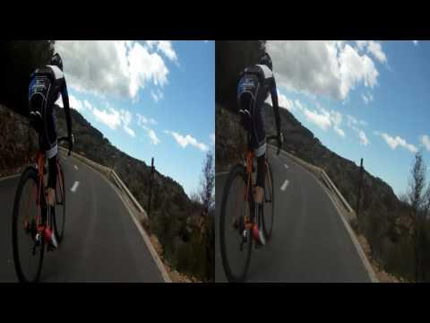 3D HSBS - Majorque/Mallorca 2014 - Vers Deià/Riding into Deià