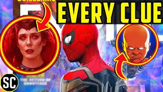 SPIDER-MAN: No Way Home Empire Cover: SCARLET WITCH Clues and New Villain Reveals} Marvel Breakdown