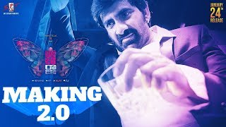 Disco Raja Movie Making 2- Ravi Teja, Nabha Natesh..