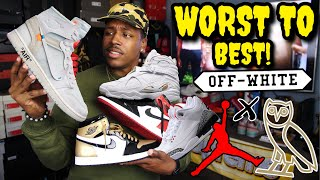 OVO 8, OFF WHITE AJ1, CEMENT 3, GOLD TOE AJ1 & MORE! 2018 JORDAN ALL STAR COLLECTION |WORST TO BEST!