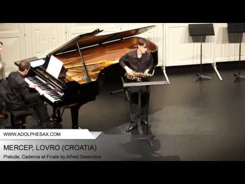 Dinant 2014 - Mercep, Lovro - Prelude, Cadence et Finale by Alfred Desenclos