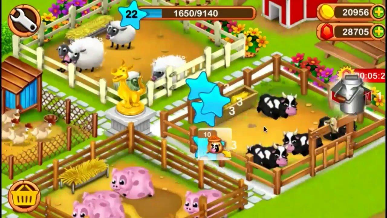 เล่น ฟาร์มขนาดใหญ่เล็ก ๆ น้อย ๆ on PC 2