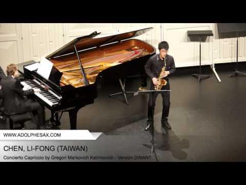 Dinant 2014 - CHEN, Li-Fong (Concierto Capriccio by Gregori Markovich Kalinkovich - Version DINANT)