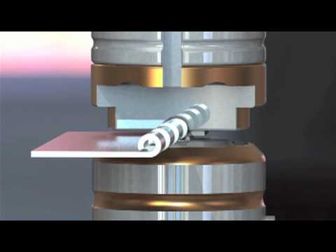 Forming Hinges In The Punch Press Saves Time Increases