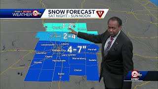 Winter storm to blanket KC with several inches of snow