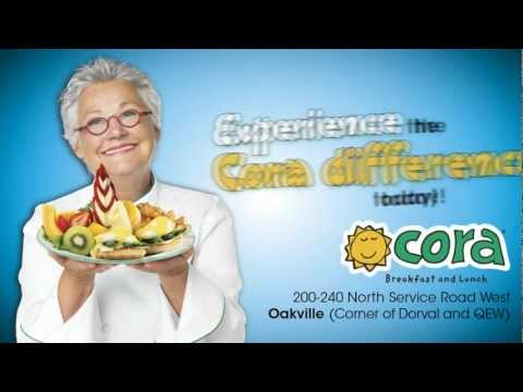 "Cora ""Experience the Cora difference"""