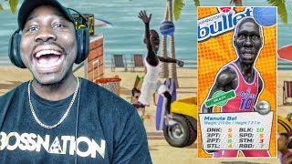 "7'7"" TALL MANUTE BOL BLOCKING EVERYTHING! NBA Playgrounds Gameplay Ep. 20"