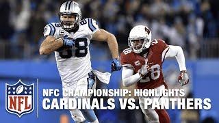 Cardinals vs. Panthers   NFC Championship Highlights   NFL