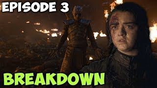 "⚔️ Game Of Thrones Season 8 Episode 3 ""The Long Night"" Breakdown! 🛡"