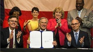 $11.5B Texas school finance bill signed into law