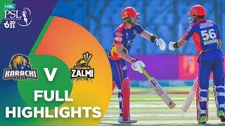 Full Highlights   Karachi Kings vs Peshawar Zalmi   Match 13   HBL PSL 6   MG2T