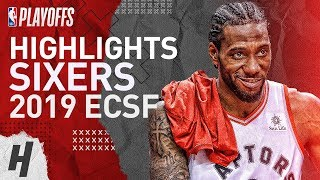 Kawhi Leonard Full Series Highlights vs 76ers | 2019 NBA Playoffs ECSF