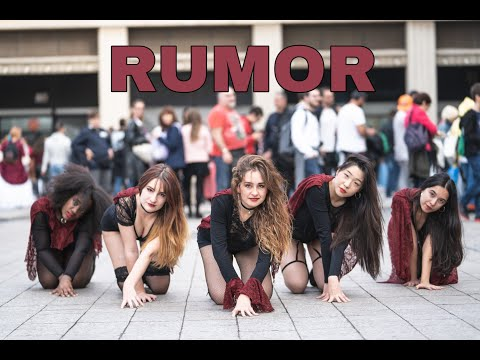 [KPOP IN PUBLIC] RUMOR - PRODUCE48 (IZ*ONE) Halloween Special | Dance cover by GirlKrush