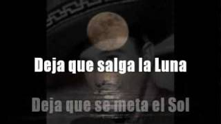 Deja que salga la luna - Pedro Infante - Karaoke