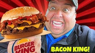 Burger King® BACON KING SANDWICH REVIEW!