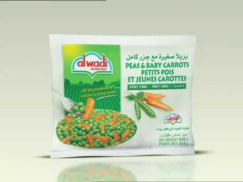 Frozen Vegetables Arabic New - Al Wadi Al Akhdar