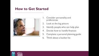 Preparing for Loss: Death, Dying and Grieving - Professional Caregiver Webinar