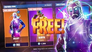 HOW TO GET THE GALAXY SKIN IN FORTNITE (100% FREE)