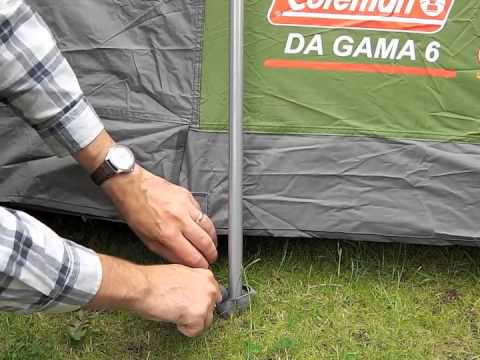 video Coleman Da Gama 6 Family Tent