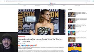 """Far left OUTRAGED Over After Natalie Portman Announced As """"Female Thor"""" Instead of """"Thor"""""""