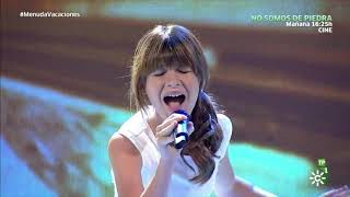 Charlotte Summers Live - Hit the Road Jack (Spanish TV) - with Antonio.  Ray Charles Cover