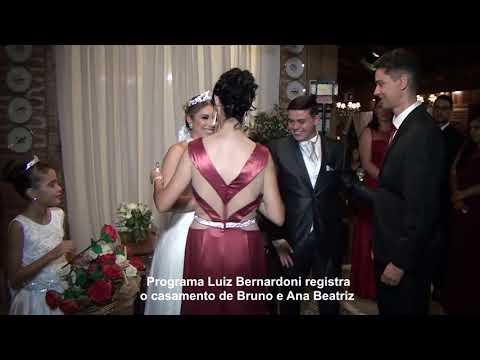 Luiz Bernardoni: casamento de Bruno e Ana Beatriz