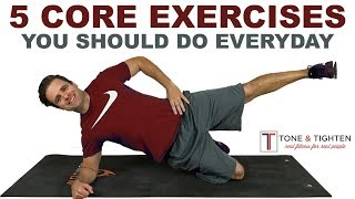 5 Of The Best Core Exercises You Should Do Everyday