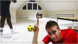 HOMEMADE FOOTBALL CHALLENGE!!