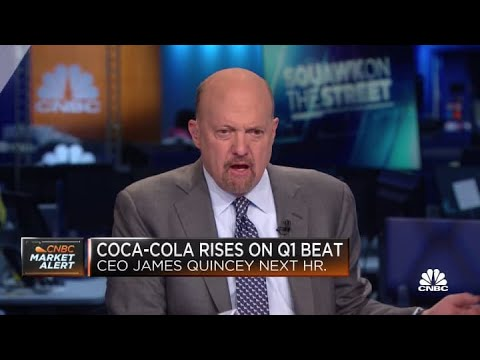 Jim Cramer on Coca Cola's earnings beat: 'This stock should be higher'