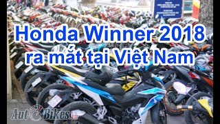 Honda Winner 2018 sắp ra mắt tại Việt Nam