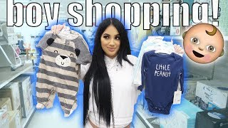 FIRST TIME SHOPPING FOR OUR BABY BOY!!!!