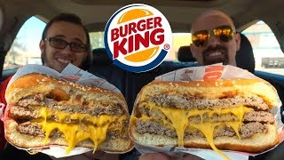 Burger King: NEW Triple Stacker King! (Review)