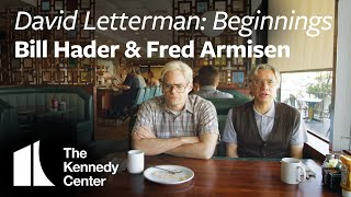 """Documentary Now!   """"David Letterman: Beginnings"""" with Fred Armisen and Bill Hader"""