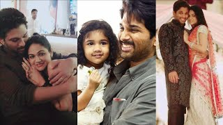 Watch: Allu Arjun and Sneha Reddy family unseen photos..